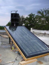 Homemade Passive Solar Collector