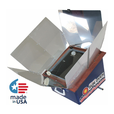 All American Sun Oven and Optional Accessories. Bake, Boil, Steam, and Sundry Foods